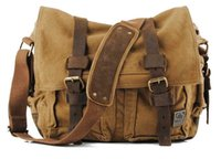 Wholesale 2015 new Men canvas single shoulder bag Men s casual bags fashion Messenger Bag