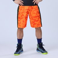 Wholesale New Men loose shorts sport training fitness mens running basketball football shorts quick dry bermuda homme
