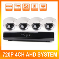 Wholesale Home CCTV Ch P AHD DVR NVR Recording Kit With HD MP Dome IR Day Night Security AHD Camera Video Surveillance Complete System