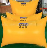 Wholesale Top Extension card Pushing tool mining capstone airbags yellow air pushing bag SIZE m m m m
