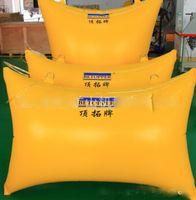 Wholesale Top Extension card Pushing tool mining capstone airbags yellow air pushing bag SIZE m m m m