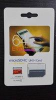 16GB 32GB 64GB 8GB 128GB Class10 UHS-1 MicroSDHC TF tarjeta SD para Samsung Galaxy Note 2 3 4 S4 S5 Móvil Tablets 48MB / s EVO con adaptador