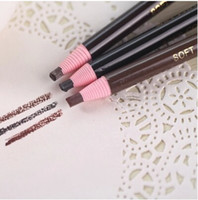 Wholesale Stay authentic eyebrow pencil waterproof and ms khan lasting soft delicate easy coloring