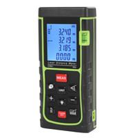 area black - 0 m ft Digital Handheld Laser Distance Area Measure Volume Meter Rangefinder with Bubble Level INS_013