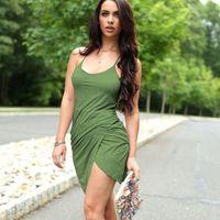 bags club - Sexy sling bag hip club dress in summer
