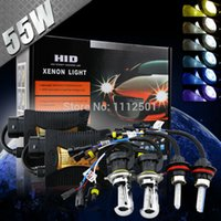 Wholesale 12V W car styling covers xenon HID Model h1 parking h3 h7 H8 H9 H10 parking Color3000k k k k k