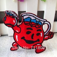 aids badge - kool aid man iron on patches kids accessory Embroidered patch Applique Badges armlet