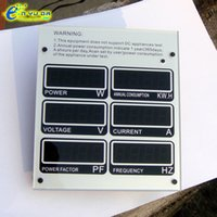 Wholesale digital multifunction power meter Ultrathin watt meter power analyzer mini voltage current power factor meter display