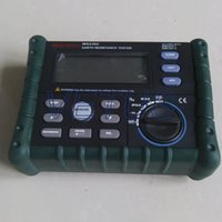 Wholesale digital earth resistance tester MS2302 measure range ohm to K ohm Digital display and analog bars display C