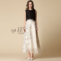 Wholesale Europe and the USA Street Style Fashion Lady Sexy Slim Silk Casual skirt Mulberry silk shop with guarantee