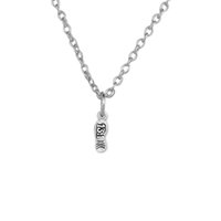 american mile - Fitness Bodybuilding Jewelry Antique Silver Half Marathon Necklace Mile Running Shoe Pendant Chain Rope Pendant Necklace