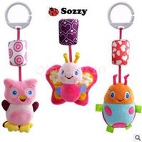Wholesale 600pcs CCA3130 High Quality Sozzy Queen Baby Toy Bed Hanging Plush Doll Bell Wind Chimes Animal Wind Chime Rattles Mobiles Hanging Bell Toys