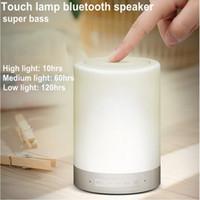 3 en 1 diseño del altavoz de Luz Lámpara inalámbrica Bluetooth Speaker romántica LED inteligente para el iPhone 4s / 5 / 5s / 6 010101