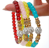 ball chain manufacturers - Manufacturers diamond single crystal ball bracelet with crystal beads bracelet fashion first ladies fashion jewelry popular versio