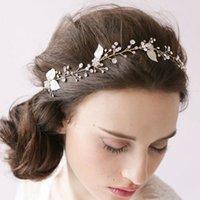 Rhinestone/Crystal gold tiara - 2015 Rose Gold Crystal Rhinestone Bridal Fascinators Party Pageant Crowns Tiaras Bridal Wedding Accessories hair Jewelry bride headdress