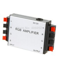 amplifier input and output - LED RGB Amplifier V V DC Input and A Channels Output For RGB LED Srip