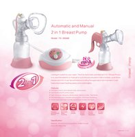 breast pump - 2 in Electric Manual electric Breast pumps milk pump nipple suction PP ml nipple pump Strong attraction Baby Products women Feeding