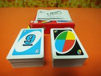 Wholesale UNO card Family Fun Games UNO Card Games UNO Cards Puzzle Games g copper board
