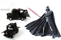 Wholesale New Star Wars Diecast Cars toy Kids Darth Vader Model Vehicle toys For Children building block toy with retail box C168