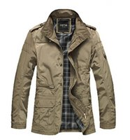 Men add a size - 2015 Male jacket Fashion collar coat Add fat to increase the size of a fat jacket XL men s casual jacket