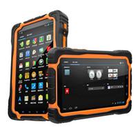 Wholesale IP67 Waterproof Rugged Tablet PC Hugerock T70 T70H Smart Phone inch phablet MTK6589 quad core GB RAM GB ROM