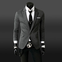 Wholesale New Spring Designer Fashion Brand Imported Social Slim Fit Casual Mens Classic Blazer Jacket Suit Coat Dress Clothing
