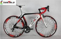 bicycle groups - Top sale costelo carbon bicycle lucca complete road carbon bike with groups carbon handlebar saddle wheels customized is ok