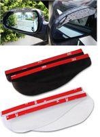 auto shade - 2 Auto Rear View Side Mirror Rain Board Sun Visor Shade Shielding For Car
