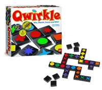 adult strategy games - Qwirkle Board Game Adult Desktop Games Wooden toys buttoned chess puzzle game Button Strategy HX