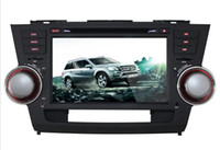 Wholesale New style Touch Screen Android Inch Car Navigation DVD Player With GPS Radio WiFi For Toyota Highlander