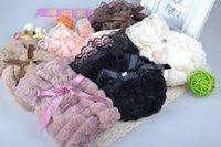 Wholesale Adult children warm antifouling protection sleeve plush super soft cuff cuff pastoral
