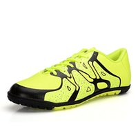 Wholesale Mens Soccer Shoes Football Boots Boys Indoor Training Shoes Hard Ground Training TF Soccer Shoes Cleats Football