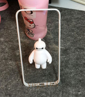 bay for sale - New Cute Cartoon Phone Cases for iPhone S for Big Hero Bay Max Soft Hot Sale Transparent Phone Cases