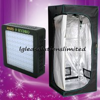 assembling led lights - the newest Mars II w led grow light and Grow Tent2 x2 x5