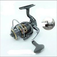Cheap New Hot Sale Spinning Fishing Reel 12BB + 1 Bearing Balls 1000-7000 Series Interchangeable Fishing Reel Boat Rock Fishing Wheel Full Metal