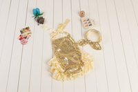 baby clothes stock - In stock newborn glitter sequins bubble rompers baby girl fashion boutique clothes for kids