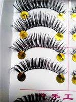 Wholesale Pair Thick False Eyelashes Mink Eyelash Lashes Voluminous Makeup