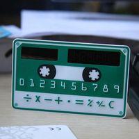 Les mini-nouvelle calculatrice calculatrice calculatrice solaire carte-cadeau Mini portables produits de bureau portables
