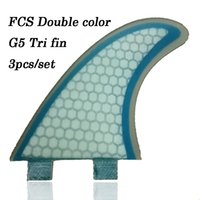 Wholesale 2014 New arrrival glass fiber FCS surf board fins top quality original FCS fins M5 size