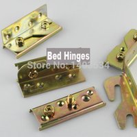 aluminum galvanized steel - 4sets Galvanized Steel Bed Rail Fasteners Bed hinges Bed hardware