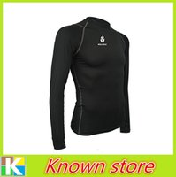Wholesale WOLFBIKE Men and Women Outdoor Sports Thermal Underwear Top Winter Warm Long Johns Fleece Undershirts