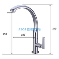 bathtub fittings - Luxury Single handle Chrome Polish Fitted Copper Deck Mount Kitchen Toilet laundry Bathtub Sink Faucets