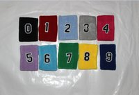 sweatbands - New arrival new brand High Quality Terry Cotton Sweatbands With Numbers