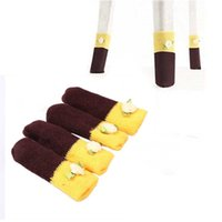Wholesale 1set Home Knit Wool Chair Table Leg Floor Protector Anti Scratch Cover Sock Sleeve