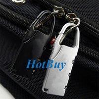 mini padlock - Cute Mini Digit Combination Security Travel Luggage Suitcase Lock Padlock