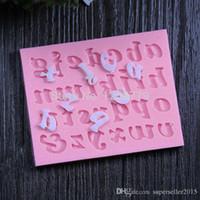 26 lettere corona doccia stampi partito fondente silicone del sapone muffa, stampi candele, strumenti artigianali zucchero, stampi per cioccolato IA991 P SUP5