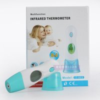 Wholesale Multifunctional LCD Digital Infrared Thermometer Adult Baby IR Thermometer Ear Forehead Child Thermometer