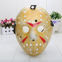 Wholesale 120pcs Jason Voorhees Jason vs Freddy hockey festival party mask killer mask Halloween masquerade mask plastic