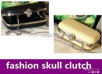 Cheap Wholesale-Women handbag 2015 serpentine skull clutch evening bag cross-body small mobilephone casual bag handbags designers brand
