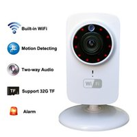1080x720P cámara HD IP inalámbrico portátil Wi-Fi inteligente de seguridad CCTV cámara de vigilancia cámara de visión nocturna Comcorder Audio Video Telecámara